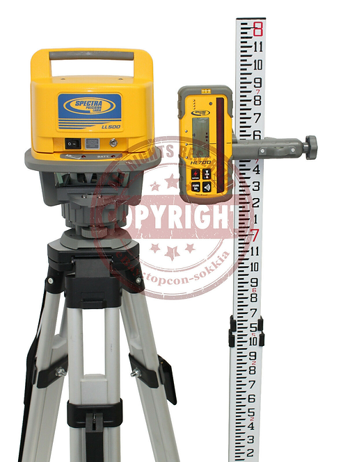 Spectra Precision LL500 + HL700 Laser Level Package
