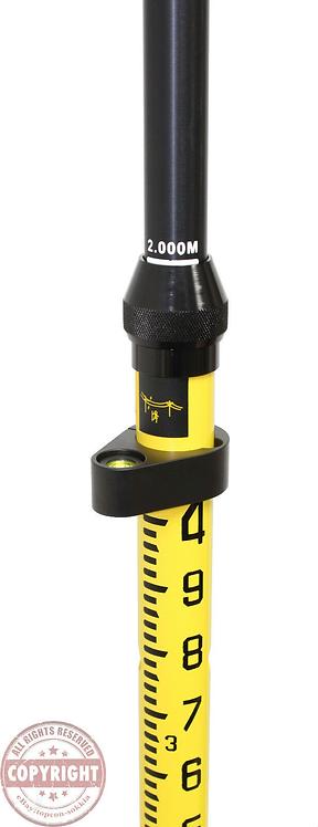 TPI 2M Aluminum Snap-Lock GPS Rover Rod