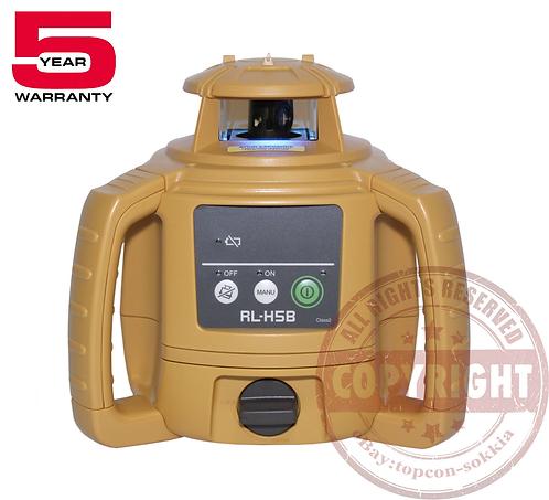 Topcon RL-H5B Self-Leveling Rotary Laser Level