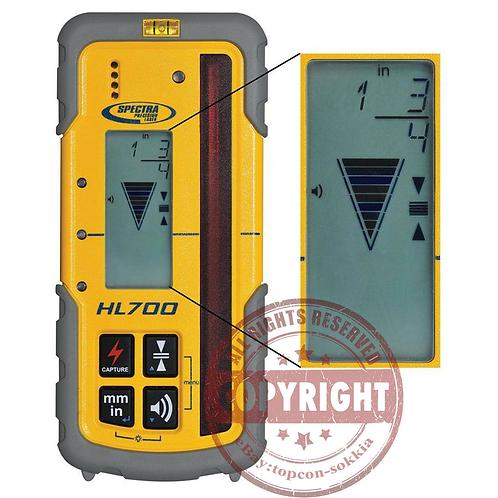 Spectra HL700 Laser Level Receiver