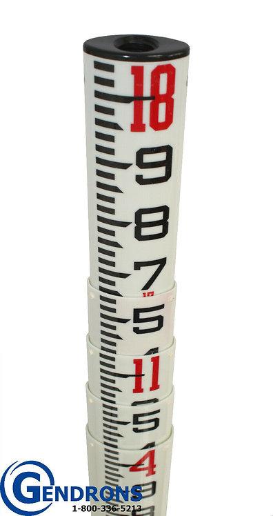 Sokkia 18' SK Fiberglass Surveying Grade Rod