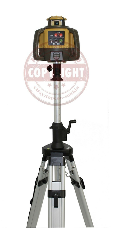 Topcon RL-H5A Self-leveling Rotary Grade Laser Level Elevator Tripod Package