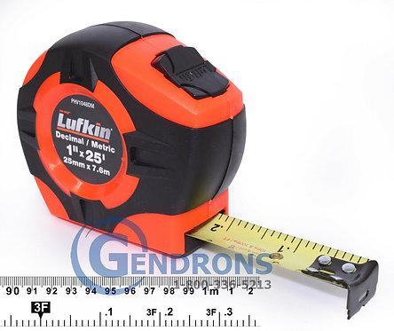 Lufkin PHV1425DN 7.6m Tape Measure