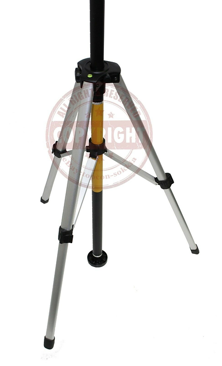 TPI Adjustable Laser Level Pole & Tripod