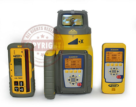 Spectra Precision GL622 + HL760 Self Leveling Rotary Laser Level