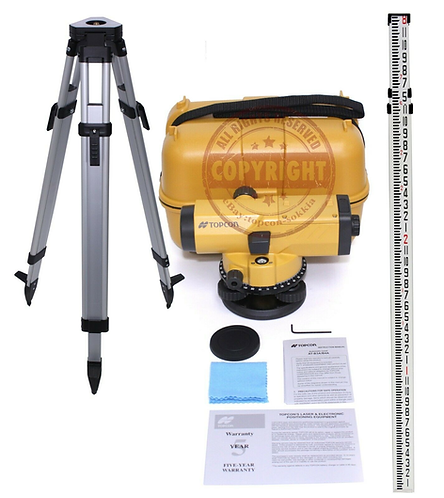 Topcon AT-B4 Automatic Level Package
