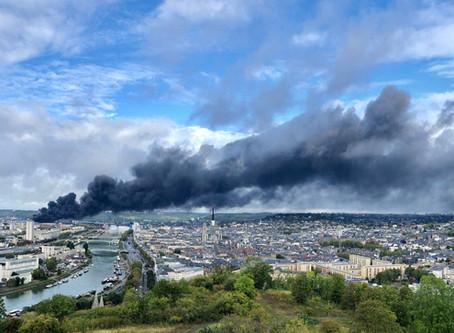 Incendie de Lubrizol et de Normandie Logistique  : 1 an après