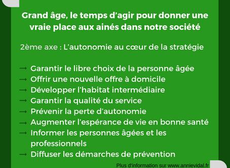 Axe 2 du rapport Grand Âge & autonomie