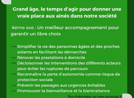 Axe 4 du rapport Grand Âge et autonomie