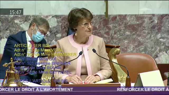 PJL pour renforcer le droit à l'avortement : Amendement relatif au statut des sages-femmes
