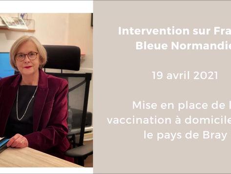 Interview France Bleue Normandie du 19 avril 2021