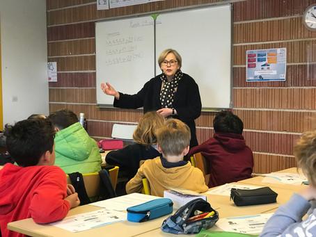 Le Parlement des Enfants à l'école Préhistoval de Gouy