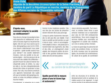 Interview dans le magazine Perspectives sanitaires et sociales de la FEHAP