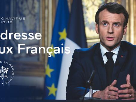 Adresse aux Français du président de la République Emmanuel Macron, le 24 novembre 2020