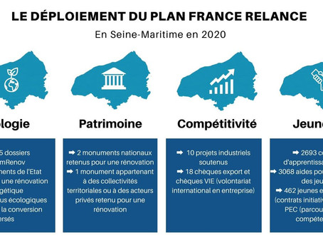Le déploiement du plan France Relance en Seine-Maritime