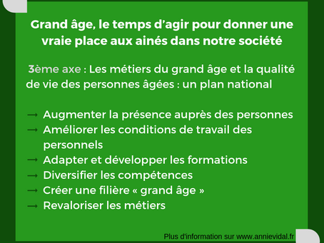 Axe 3 du rapport Grand Âge & autonomie