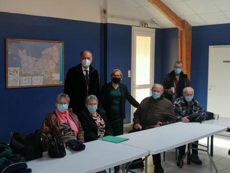 """Annie Vidal à l'initiative du déploiement d'une """"vaccination itinérante"""""""