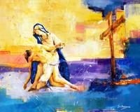 Pietà 66 em Fresco XXI