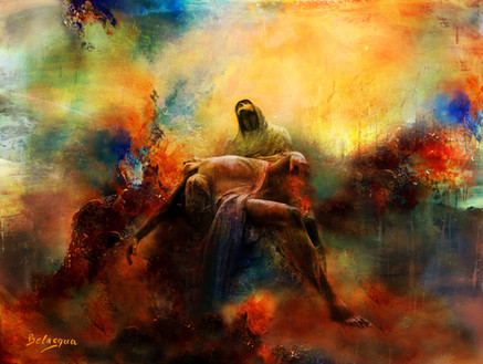 Pietà 1 em Fresco XXI