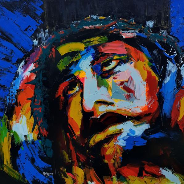 Cristo retrato 2