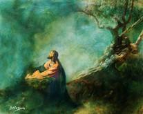 Agonia de Jesus no horto das oliveiras