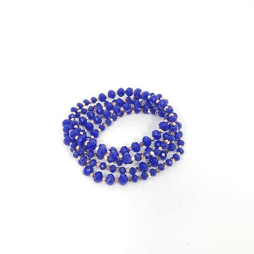 Cobalt Blue & Rose Gold Wrap