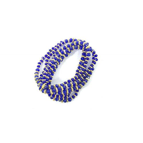 Royal Blue Crystal Wrap