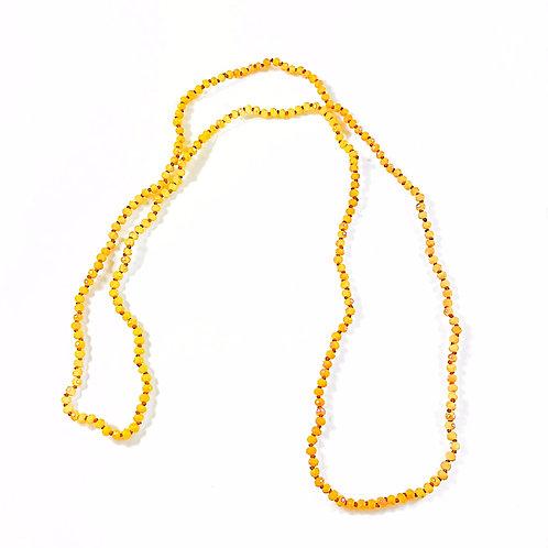 Yellow Bead Knot Chain