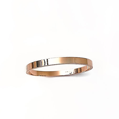 Stainless Steel Rose Gold Bangle