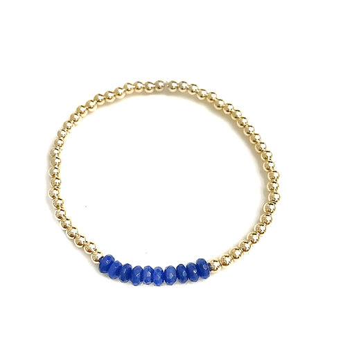 Gold & Cobalt Blue