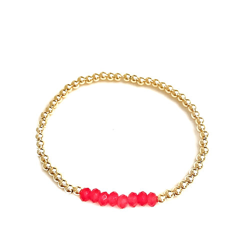 Gold & Raspberry