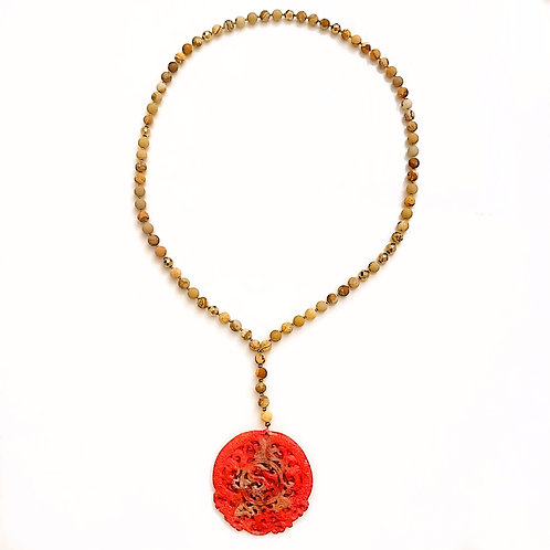 The Red Jade Necklace