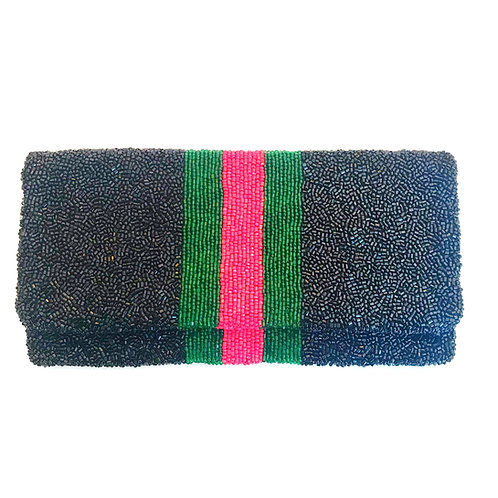 Gucci Inspired Beaded Clutch