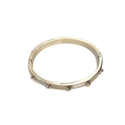 Stainless Steel Silver Bangle