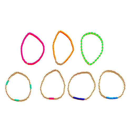Neon Stretch Bracelets