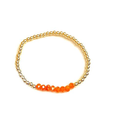 Gold & Orange