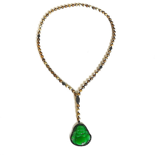 The Green Buddha Necklace
