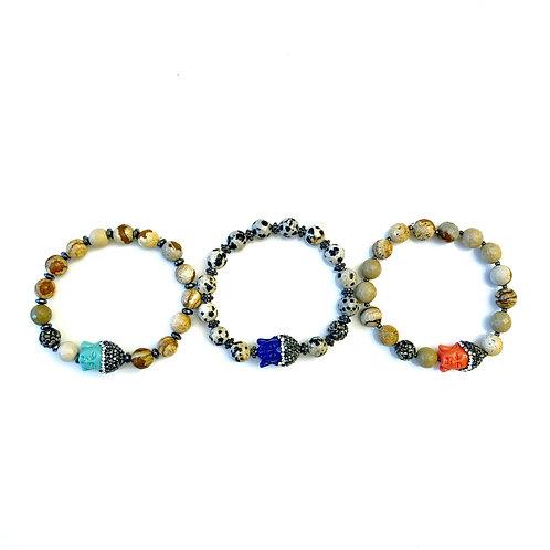 Bright Buddha Bracelet