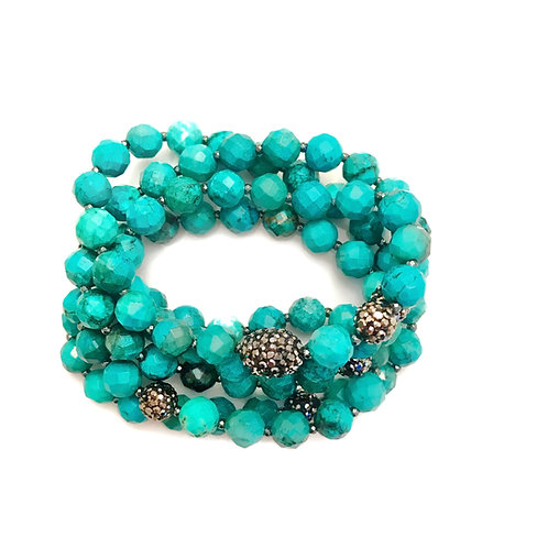 African Turquoise Wrap
