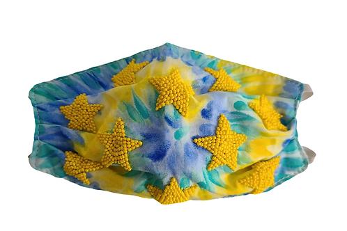 Tie dye & Stars Mask