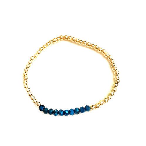 Gold & Dark Blue