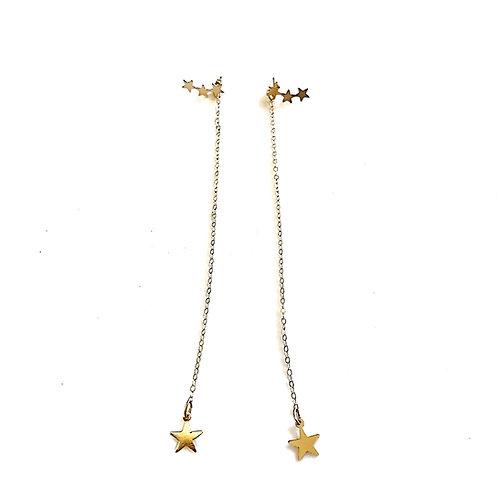 Hanging Stars Earrings