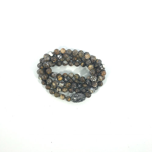 Brown Obsidian Wrap