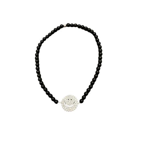 Silver Happy Bracelet