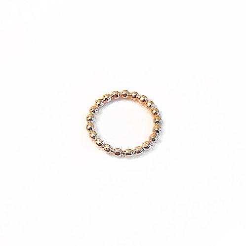 Rose Gold Ball Ring