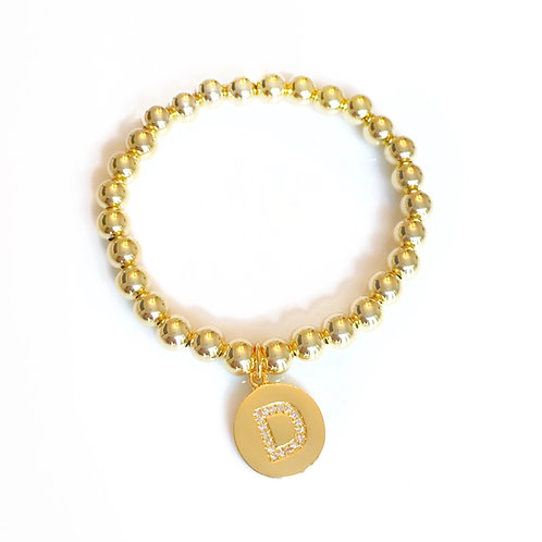 6mm Gold Filled Bracelet w/or without initials