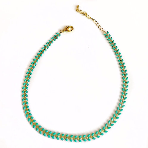 Green Fishtail Chain