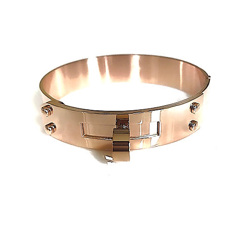 Stainless Steel Rose Gold Cuff