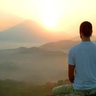 Image of a man sitting in a resting pose to represent Hypnotherapy