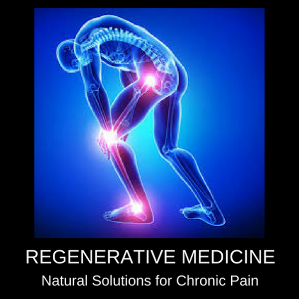 Regenerative Medicine, Natural Solutions to Chronic Pain